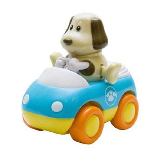 Зверушка на колесиках – СобачкаМашинки для малышей<br>Зверушка на колесиках – Собачка<br>