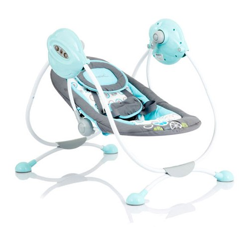 Электрокачели Surf с адаптером, Blue/SummerЭлектронные качели для детей<br>Электрокачели Surf с адаптером, Blue/Summer<br>