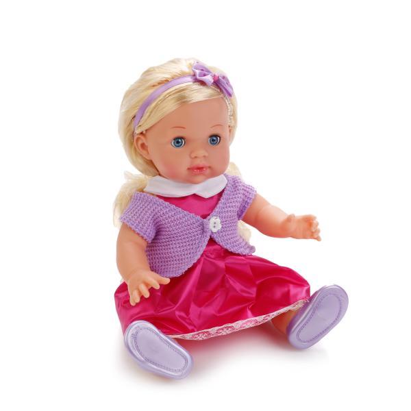 Интерактивная кукла Полина озвученная, размер 35 см.Куклы Карапуз<br>Интерактивная кукла Полина озвученная, размер 35 см.<br>