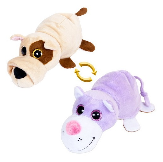 Мягкая игрушка - Перевертыши - Собака/Кот, 16 смЖивотные<br>Мягкая игрушка - Перевертыши - Собака/Кот, 16 см<br>