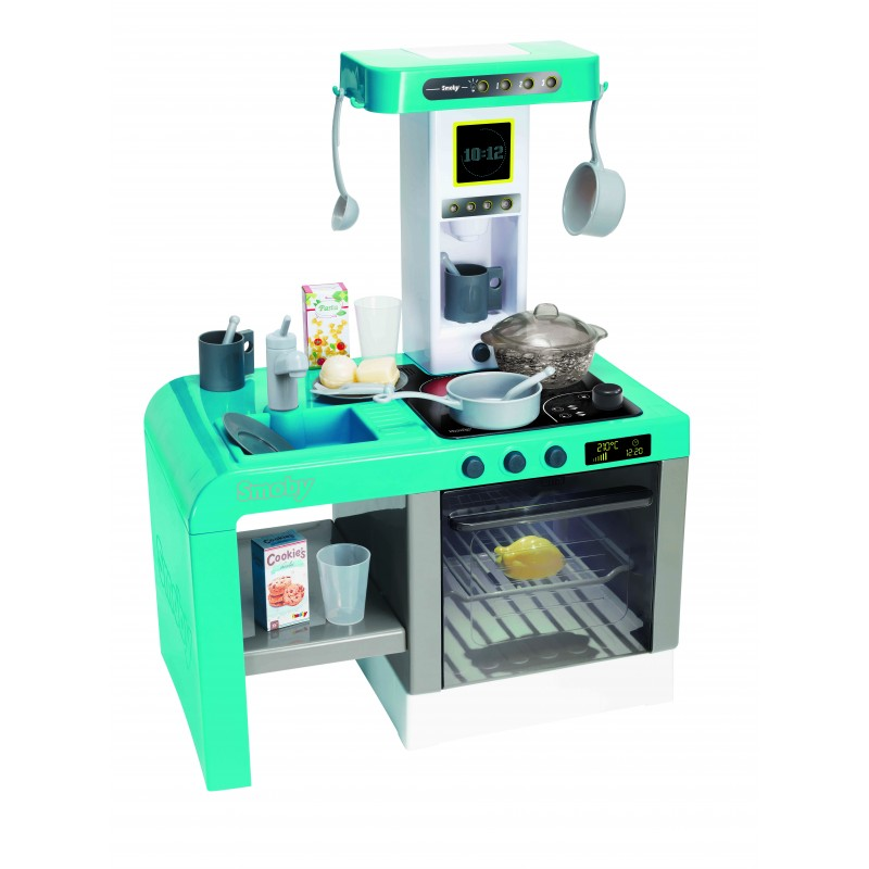 Купить Детская электронная кухня Tefal Cheftronic, кипение, свет, звук, Smoby
