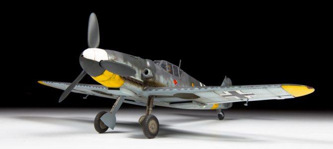 Сборная модель самолета. Немецкий истребитель Мессершмитт Bf-109G6 - Самолеты, службы спасения, артикул: 158351