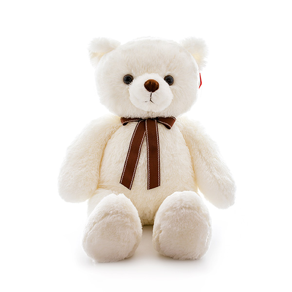 Мягкая игрушка Медведь кремовый с ленточкой, 65 см.Медведи<br>Мягкая игрушка Медведь кремовый с ленточкой, 65 см.<br>