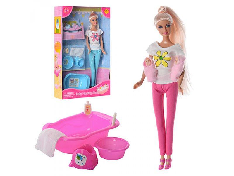 Купить Кукла Lucy с младенцами и аксессуарами для купания, 2 вида, Defa Lucy