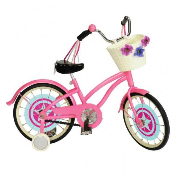 Велосипед для куклы ростом 46 смТранспорт для кукол<br>Велосипед для куклы ростом 46 см<br>