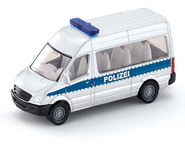 Купить Игрушечная модель – Полицейский фургон, 1:55, Siku