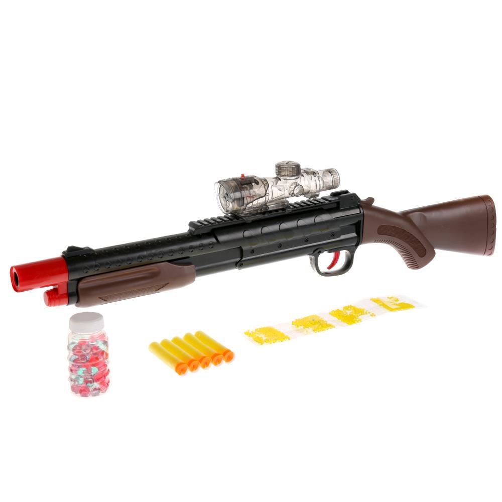 Купить Ружье с мягкими и гелевыми пулями, лазерный прицел, Играем вместе