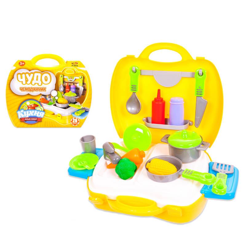 Чудо-чемоданчик - Кухня, 21 предметАксессуары и техника для детской кухни<br>Чудо-чемоданчик - Кухня, 21 предмет<br>