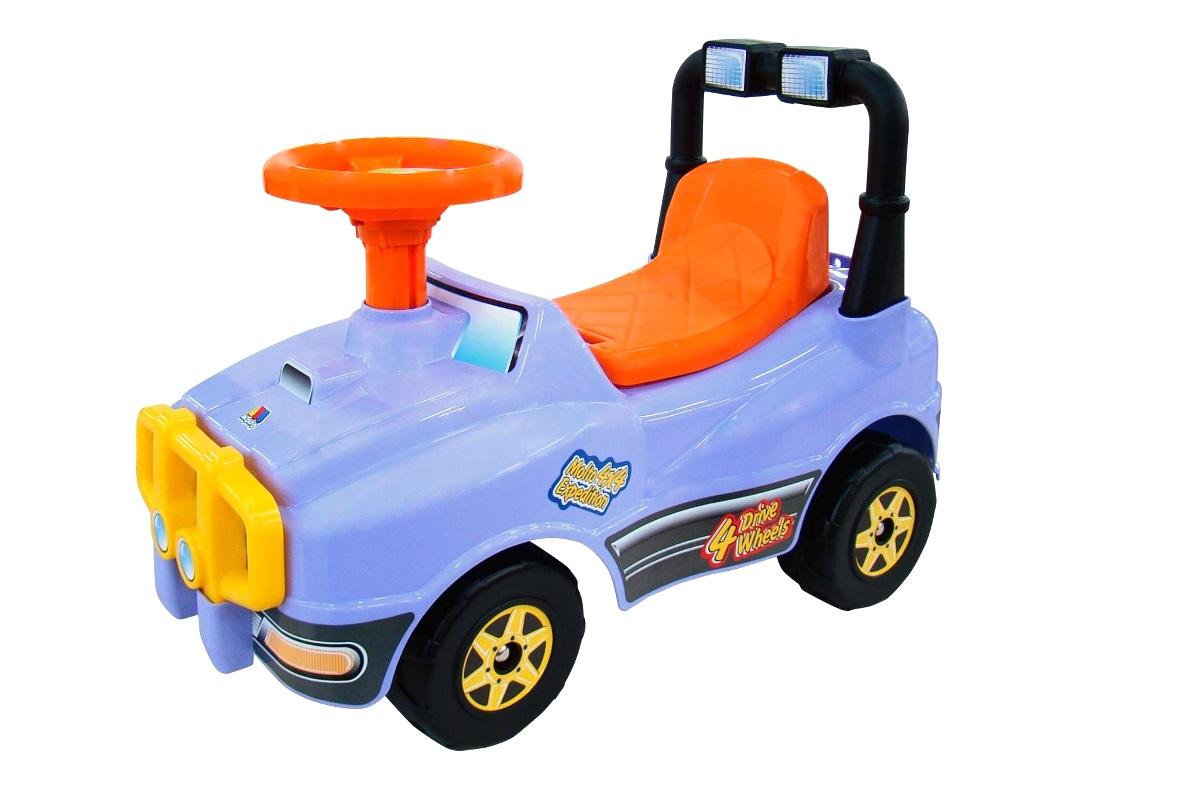 Автомобиль-каталка №2 - Джип, сиреневый Полесье