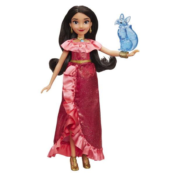 Купить Кукла интерактивная - Елена Принцесса Авалора и Зузо из серии Disney Princess, Hasbro