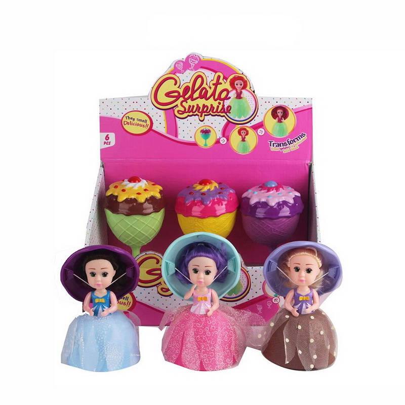 Купить Кукла – Cupcake Jelato. 3 вида, JUNFA TOYS