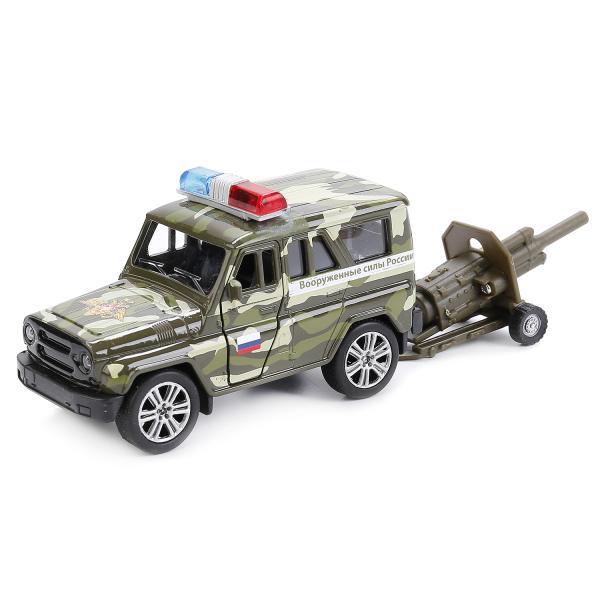 Игровой набор УАЗ Hunter, 11см и пушкаРусские машины<br>Игровой набор УАЗ Hunter, 11см и пушка<br>