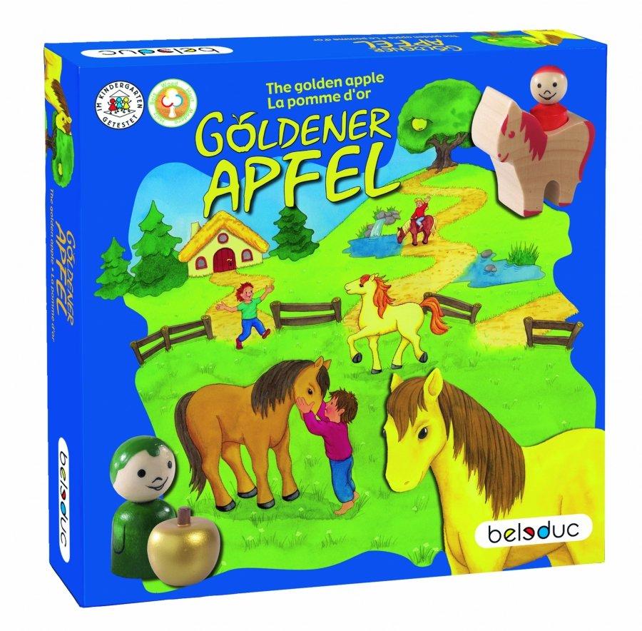 Развивающая игра - Золотое яблоко, Beleduc  - купить со скидкой