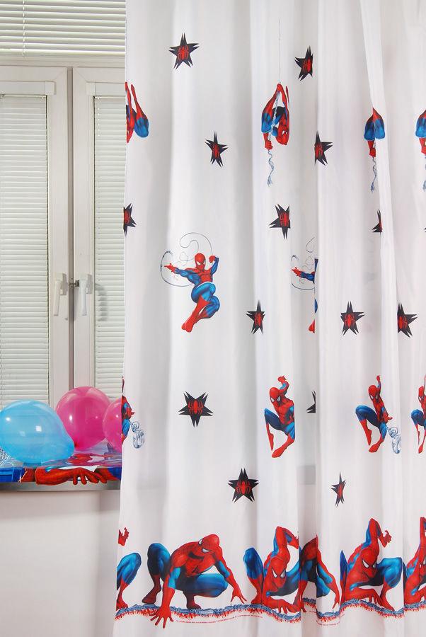 Портьера детская - Spider-Man, белыйДекор и хранение<br>Портьера детская - Spider-Man, белый<br>
