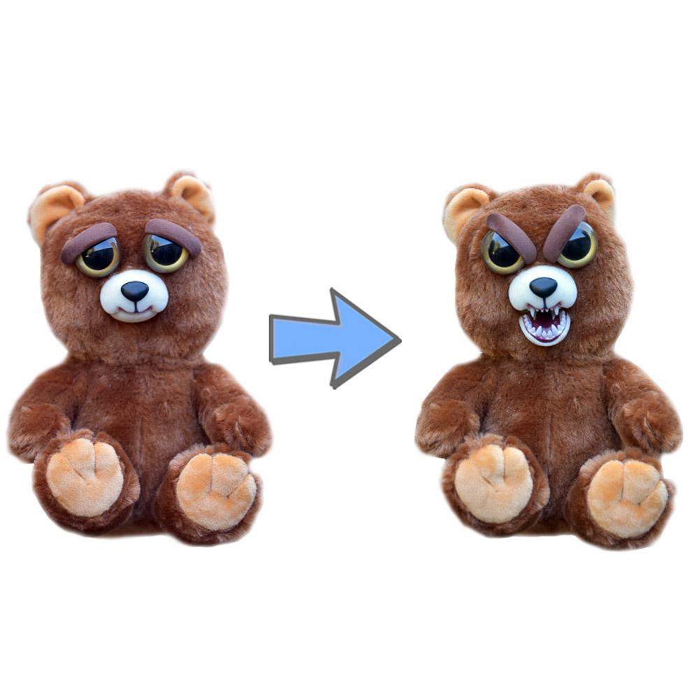 Мягкая игрушка Feisty Pets - Медведь бурый, 20 см