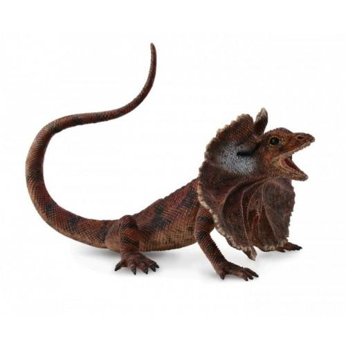 Купить Фигурка Gulliver Collecta - Плащеносная ящерица, размер L, Collecta Gulliver