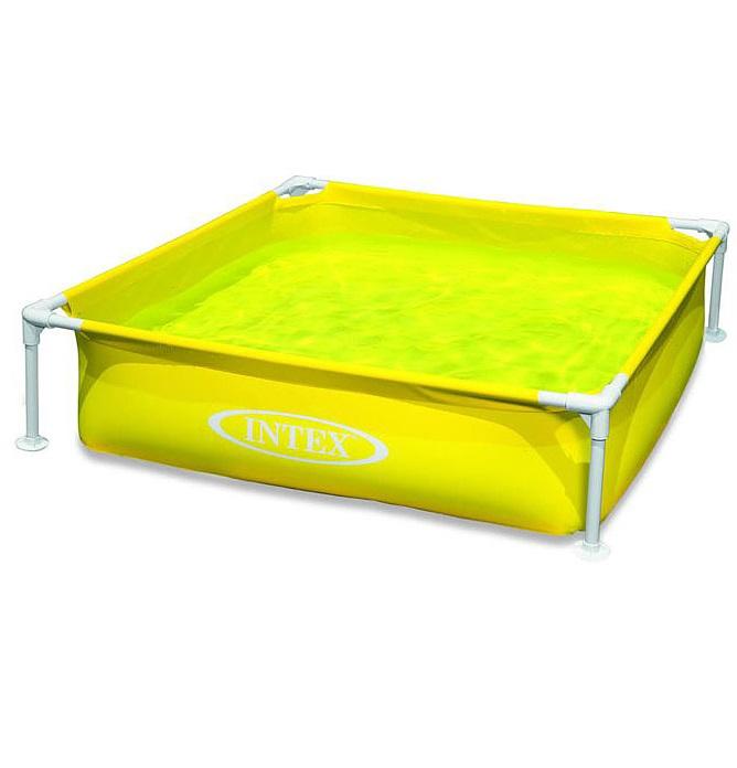 Каркасный жёлтый бассейн для детейДетские надувные бассейны<br>Каркасный жёлтый бассейн для детей<br>