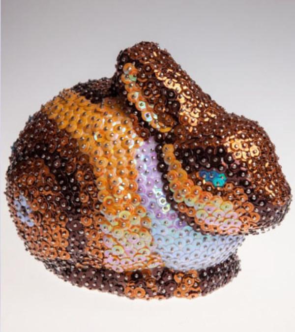 Мозаика из пайеток 3D ЗаяцАппликация, пайетки<br>Мозаика из пайеток 3D Заяц<br>