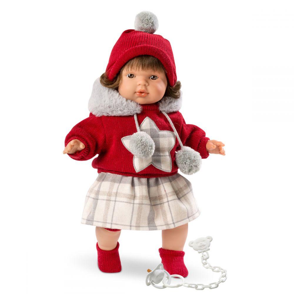 Кукла Лола 38 см, озвученнаяИспанские куклы Llorens Juan, S.L.<br>Кукла Лола 38 см, озвученная<br>