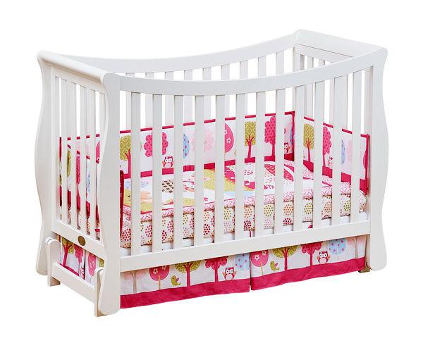 Кроватка для новорожденных Fresco, цвет WhiteДетские кровати и мягкая мебель<br>Кроватка для новорожденных Fresco, цвет White<br>