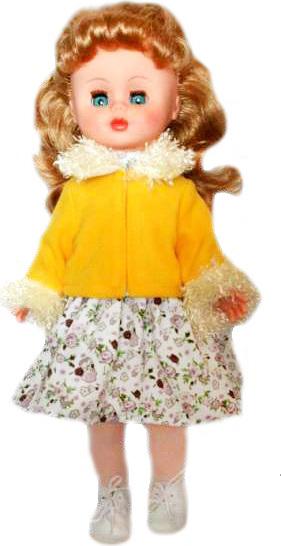 Кукла Оля 15 со встроенным звуковым устройством, 43 смРусские куклы фабрики Весна<br>Кукла Оля 15 со встроенным звуковым устройством, 43 см<br>