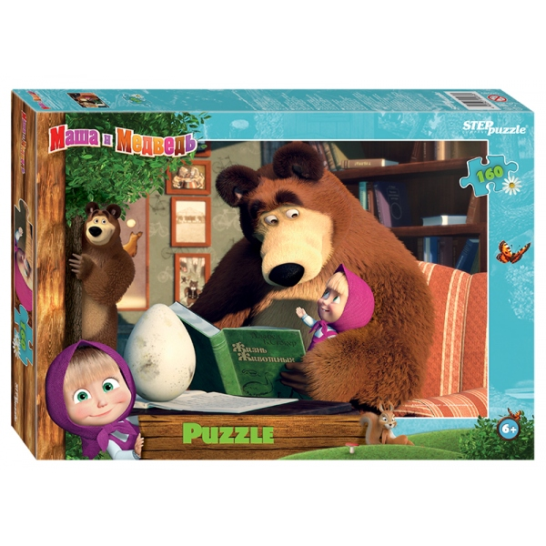 Купить Пазлы – Маша и Медведь-2, 160 деталей, Step Puzzle