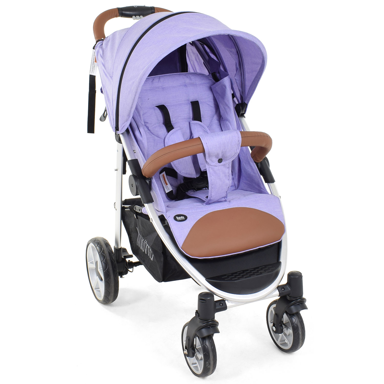 Прогулочная коляска Nuovita Corso, цвет - Lilla, Argento /Сиреневый, Серебристый фото