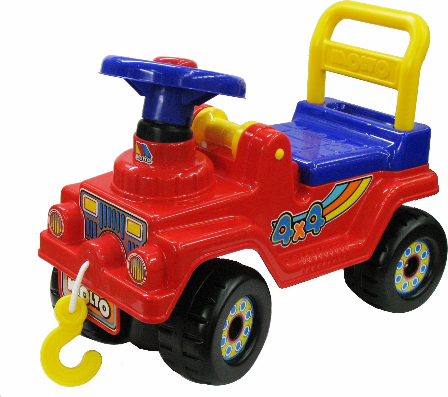 Джип 4х4 - №2, красныйМашинки-каталки для детей<br>Джип 4х4 - №2, красный<br>