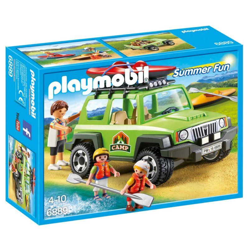 Купить Игровой набор из серии - Летний лагерь: Внедорожник, Playmobil