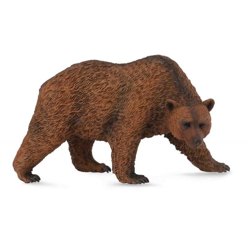 Фигурка бурого медведяЛесная жизнь (Woodland)<br>Фигурка бурого медведя<br>
