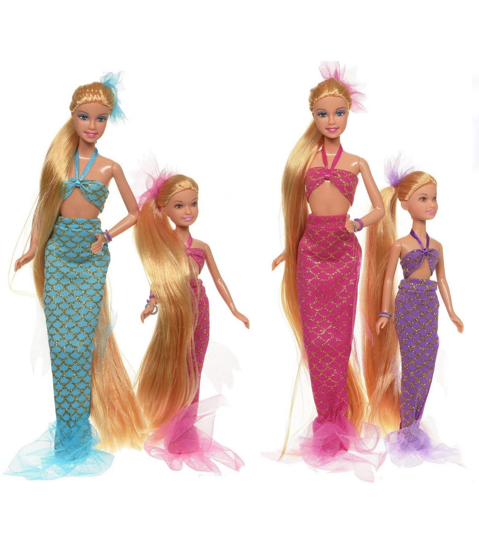 Игровой набор - Русалки, мама и дитя, с зеркаломКуклы Defa Lucy<br>Игровой набор - Русалки, мама и дитя, с зеркалом<br>