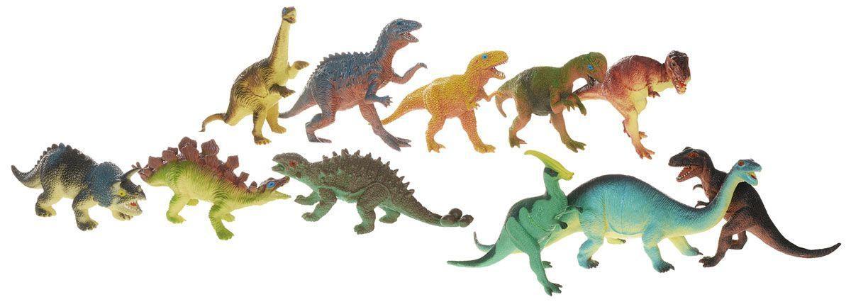 Игровой набор динозавров – Megasaurs, 11 штукЖизнь динозавров (Prehistoric)<br>Игровой набор динозавров – Megasaurs, 11 штук<br>