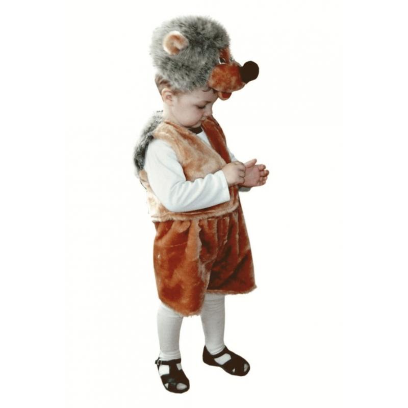 Карнавальный костюм - Ежик, мех, размер 28 Батик