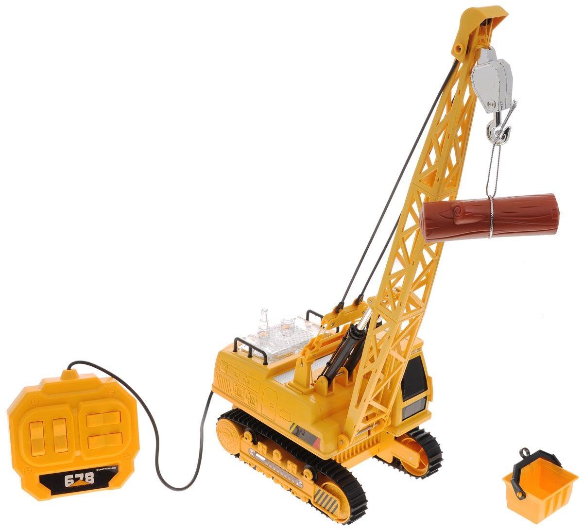 Подъёмный кран на проводном управлении от Toyway