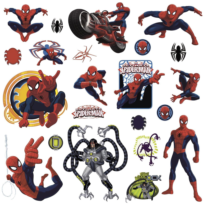 Наклейки для декора – Человек-паук