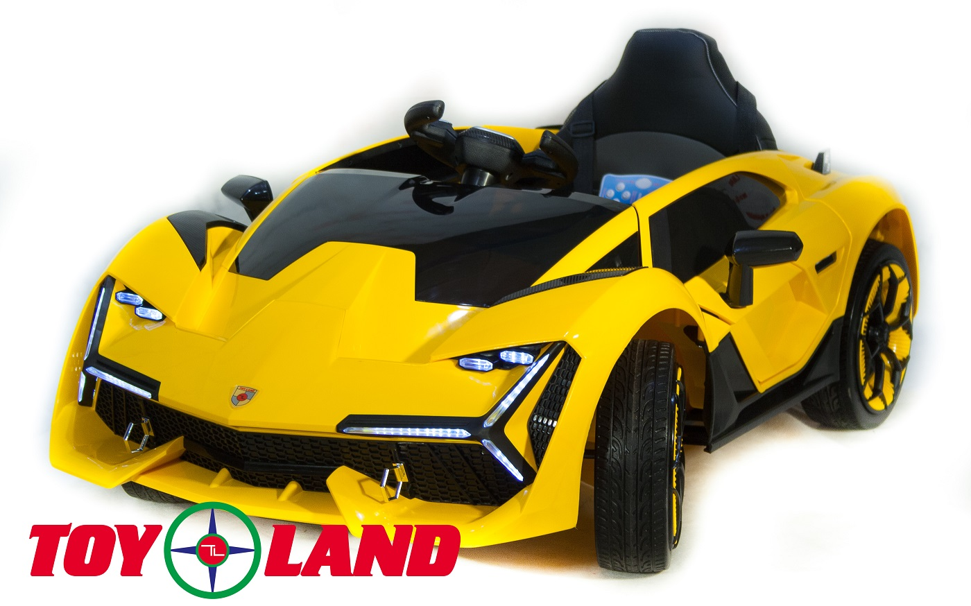 Электромобиль ToyLand Lamborghini YHK2881 желтого цвета фото