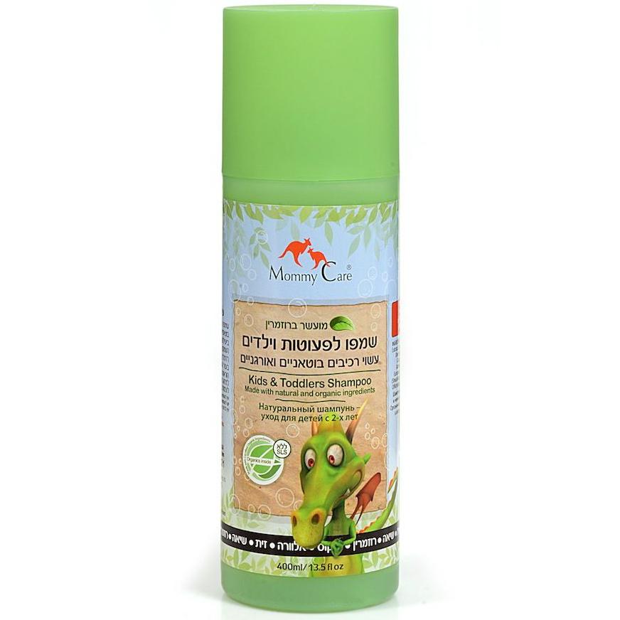 Натуральный шампунь Kids&Toddlers Natural Shampoo, 400 мл Mommy Care