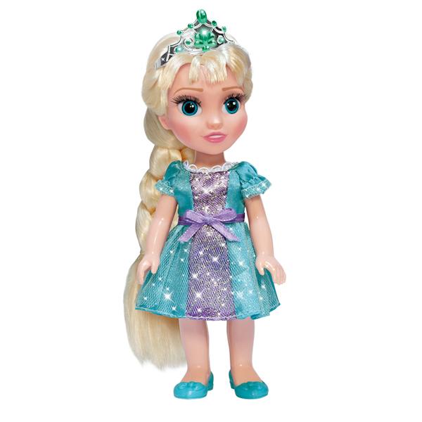 Озвученная кукла Disney Frozen «Эльза» 15 см, с аксессуарамиКуклы Карапуз<br>Озвученная кукла Disney Frozen «Эльза» 15 см, с аксессуарами<br>