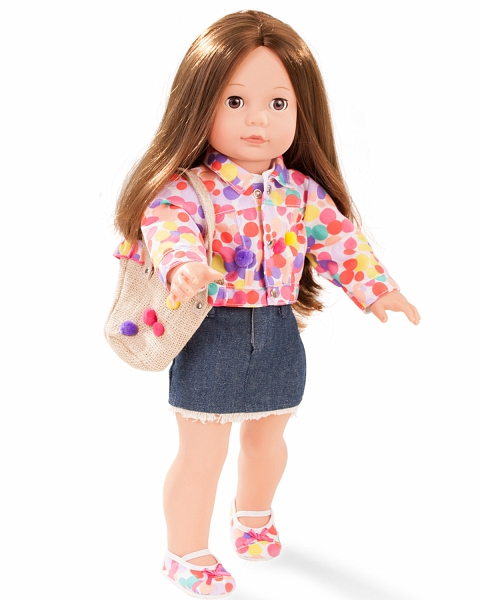 Кукла - Елизавета, шатенка, 46 смКуклы Gotz (Гетц)<br>Кукла - Елизавета, шатенка, 46 см<br>