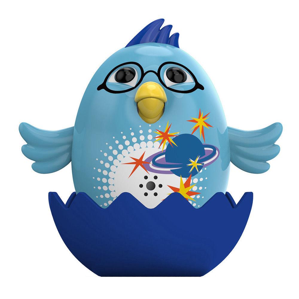 Интерактивная игрушка - Цыпленок с кольцом, голубойИнтерактивные птички DigiBirds<br>Интерактивная игрушка - Цыпленок с кольцом, голубой<br>