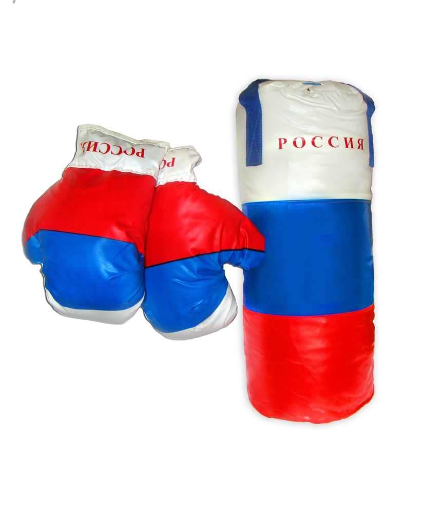 Боксерский набор РФ, средний - Детские боксерские наборы, артикул: 169416