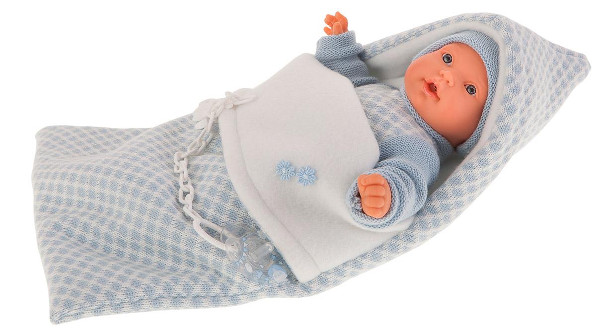 Купить Интерактивная кукла – Мерсе в голубом в конверте, 27 см, плачет, Antonio Juan Munecas