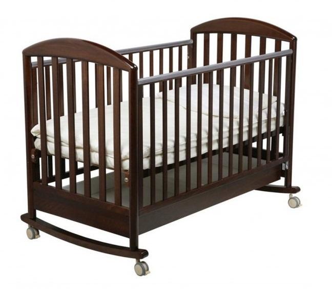 Детская кроватка Джованни, шоколадДетские кровати и мягкая мебель<br>Детская кроватка Джованни, шоколад<br>