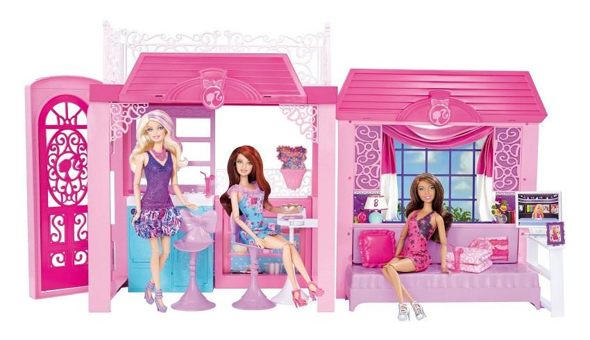 Barbie barbie mattel y4118 - Maison de reve de barbie ...