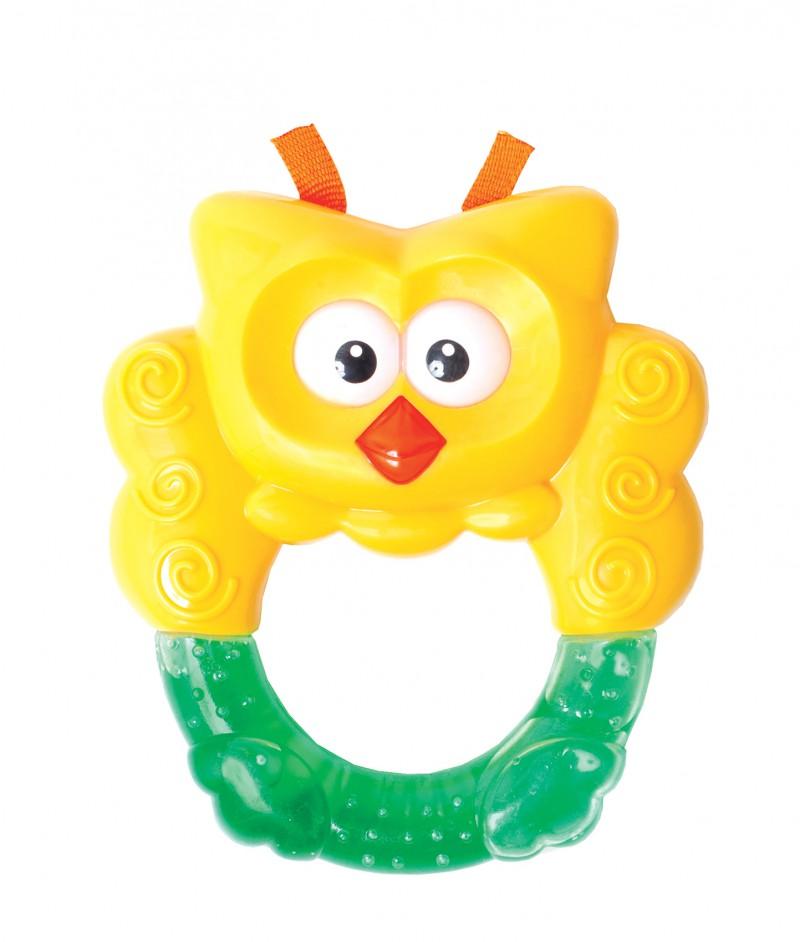 Игрушка с водой - СоваДетские погремушки и подвесные игрушки на кроватку<br>Игрушка с водой - Сова<br>