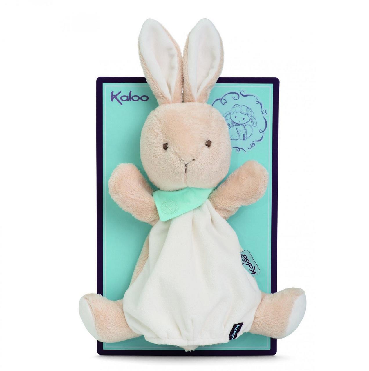 Мягкая игрушка из серии Друзья - Заяц комфортер, кукла на руку 30 смЗайцы и кролики<br>Мягкая игрушка из серии Друзья - Заяц комфортер, кукла на руку 30 см<br>