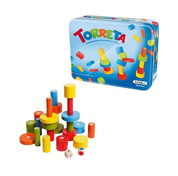 картинка Развивающая детская игра – Башенки, 25 деталей от магазина Bebikam.ru