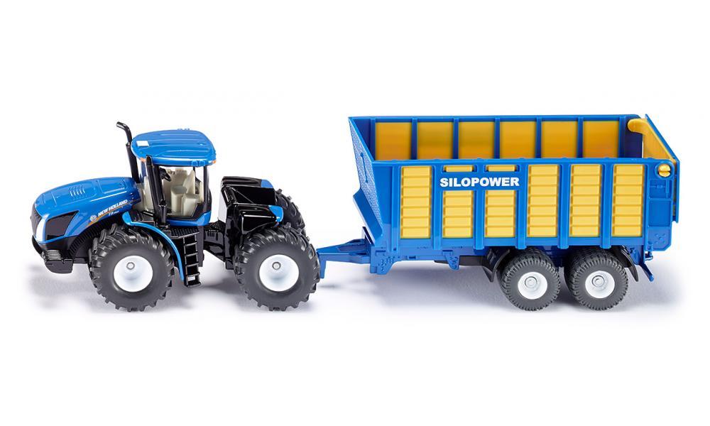 Купить Трактор с прицепом, Siku