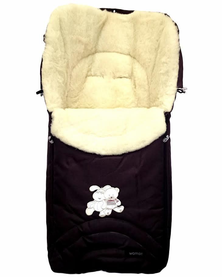 Спальный мешок в коляску №06 – Aurora. Черный