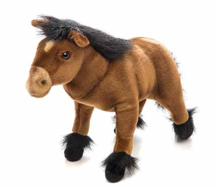 Пони, шоколадно-коричневый, 36 смЖивотные<br>Пони, шоколадно-коричневый, 36 см<br>